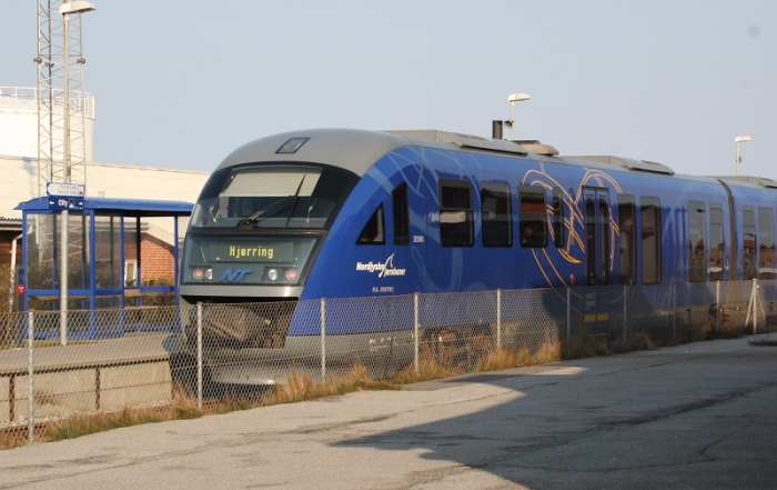 Trein naar Aalborg