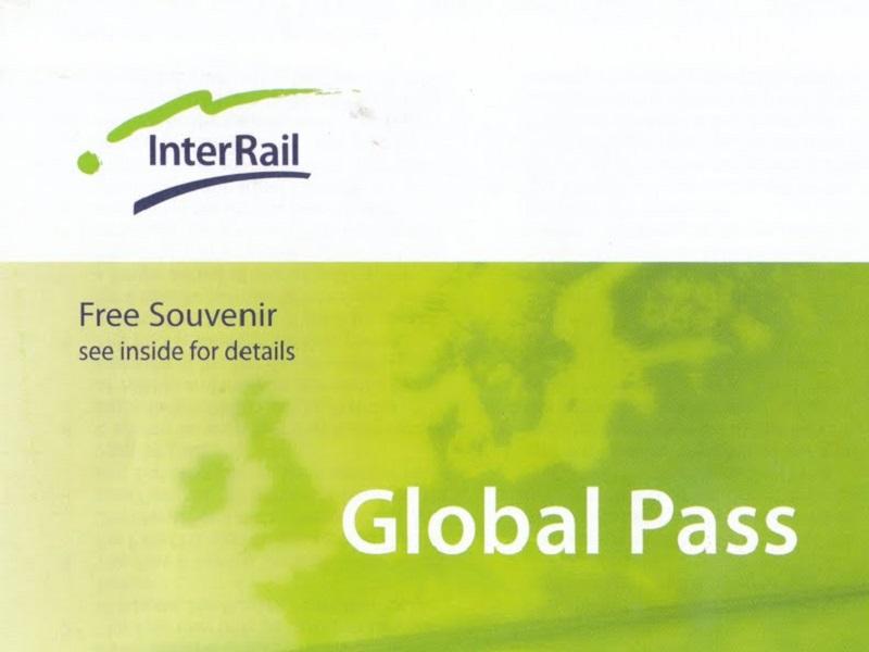 Treinpassen Interrail