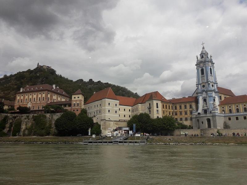 Donau fietsroute Dürnstein