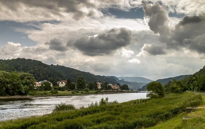Elbe fietsroute