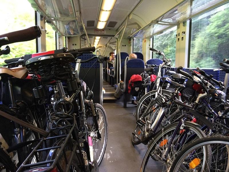 Internationaal reizen per trein en fiets