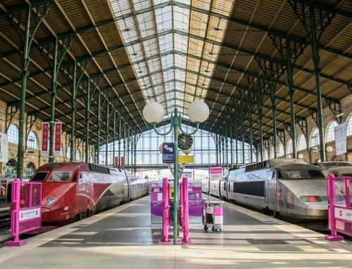 Interrailen door Frankrijk