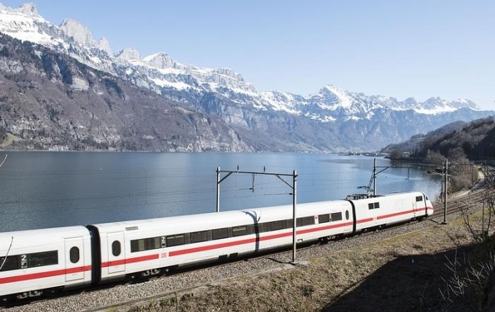 Interrailen door Zwitserland