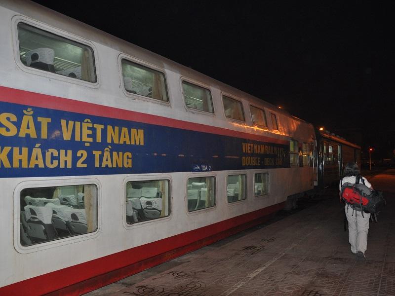 Nachttrein van Hanoi naar Sapa