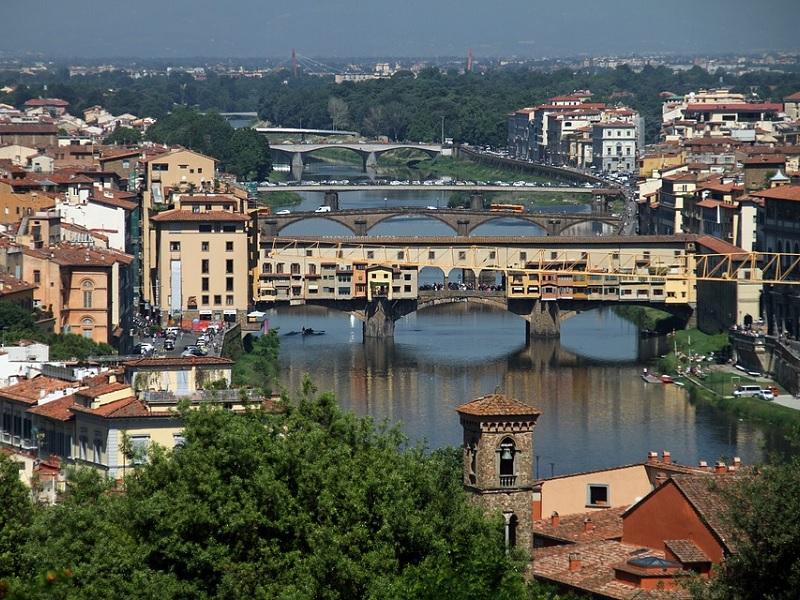 Goedkoop treinticket naar Florence boeken