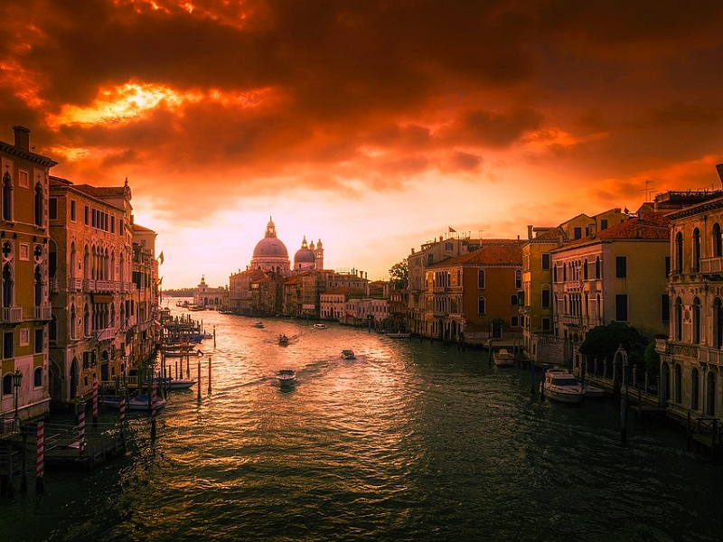 Goedkoop treinticket naar Venetië boeken