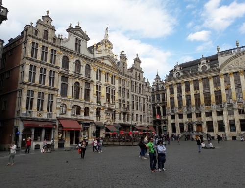 Treinticket naar België