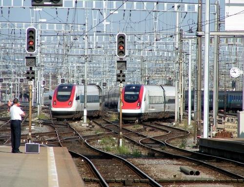 Treinticket naar Zürich