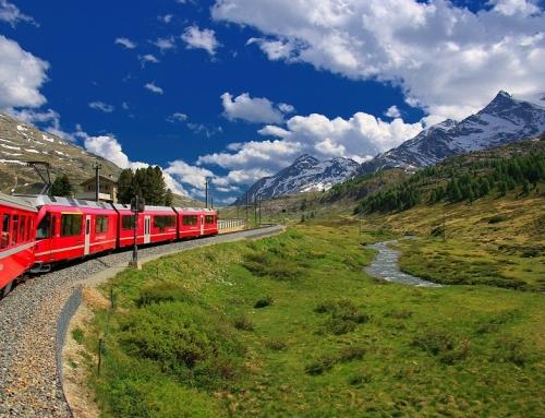 Treinpassen voor Zwitserland