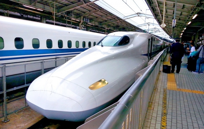 Online treintickets in Japan boeken