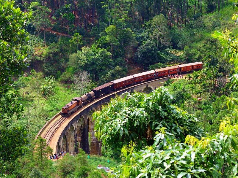 Online treintickets in Sri Lanka boeken