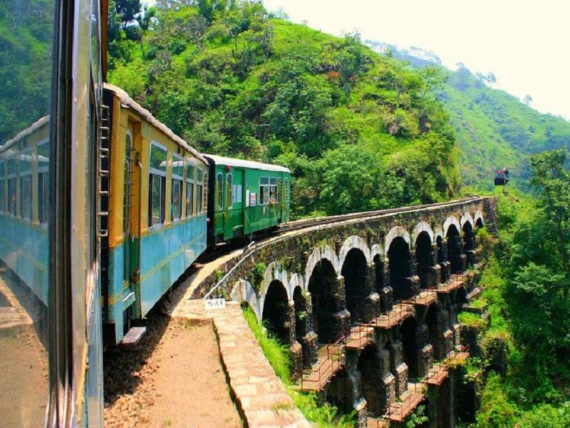 Online treintickets in India boeken