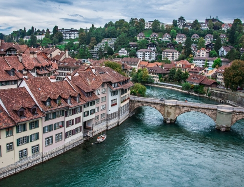 Treinticket naar Bern