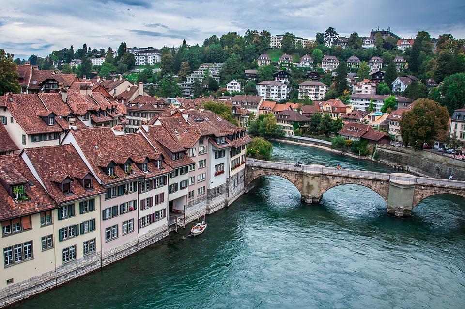 Goedkoop treinticket naar Bern boeken