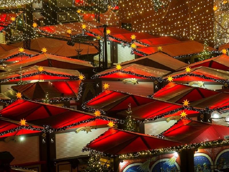 Kerstmarkt in Keulen per trein