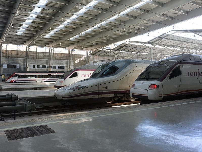 Treinticket naar Spanje boeken