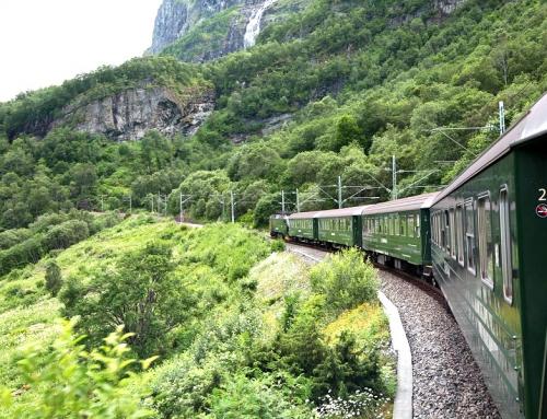 Interrailen door Noorwegen