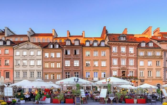 Treinticket naar Warschau boeken