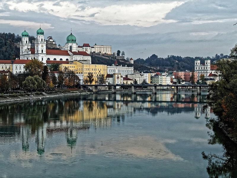 Goedkoop treinticket naar Passau boeken