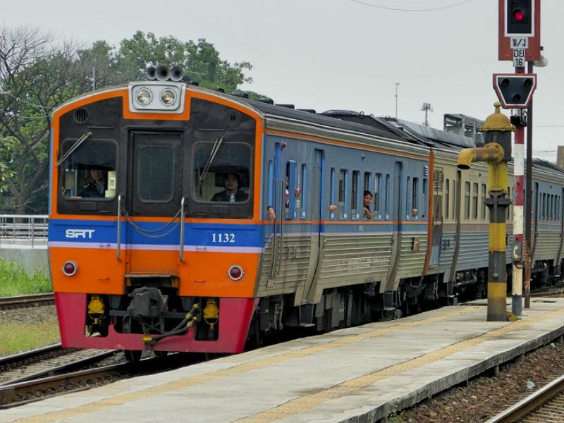 Trein van Bangkok naar Surat Thani