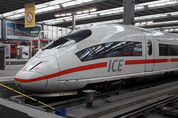 Trein naar Zürich