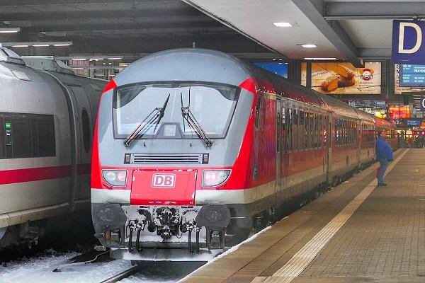 Intercity naar Garmisch Partenkirchen