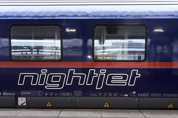 NightJet nachttrein naar München