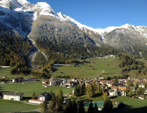 Trein naar Bergün