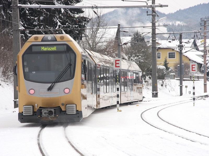 Trein naar Kirchberg in Tirol