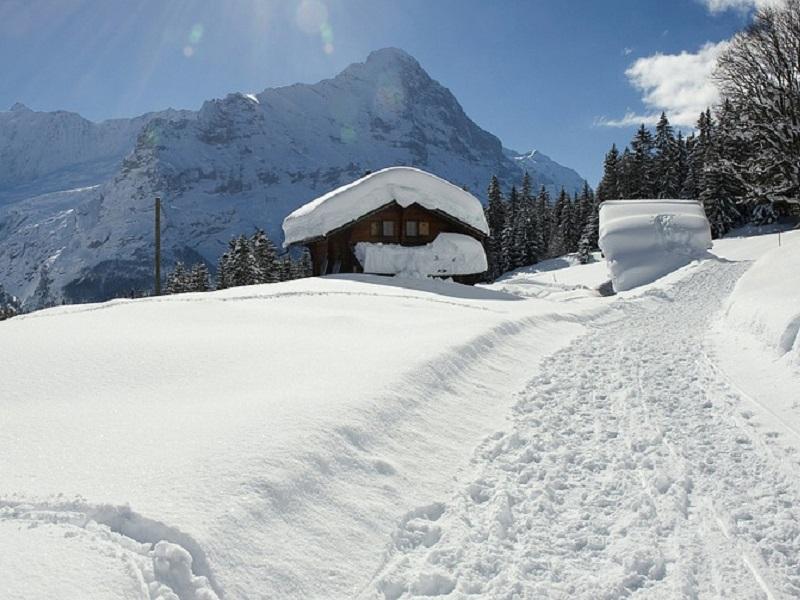 Trein naar Lauterbrunnen