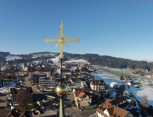 Trein naar Sankt Gallen