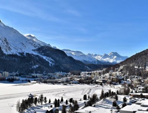 Trein naar Sankt Moritz