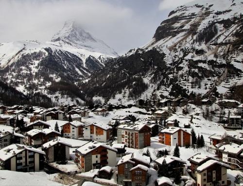 Trein naar Zermatt