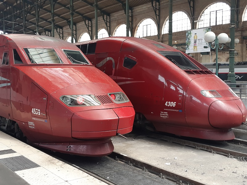 Sneeuw-Thalys naar Chambery