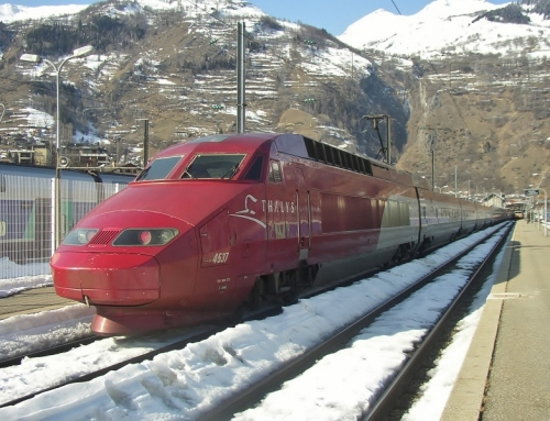 Sneeuw-Thalys