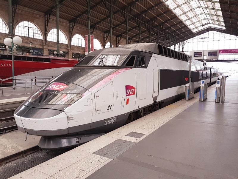 TGV naar Perpignan