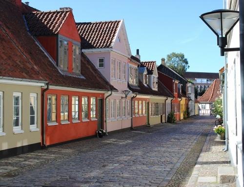 Trein naar Odense