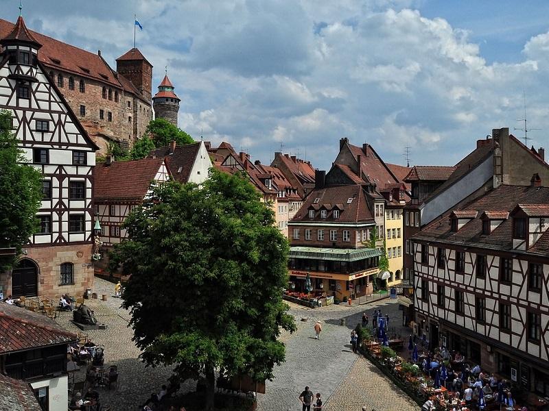 Trein naar Nürnberg